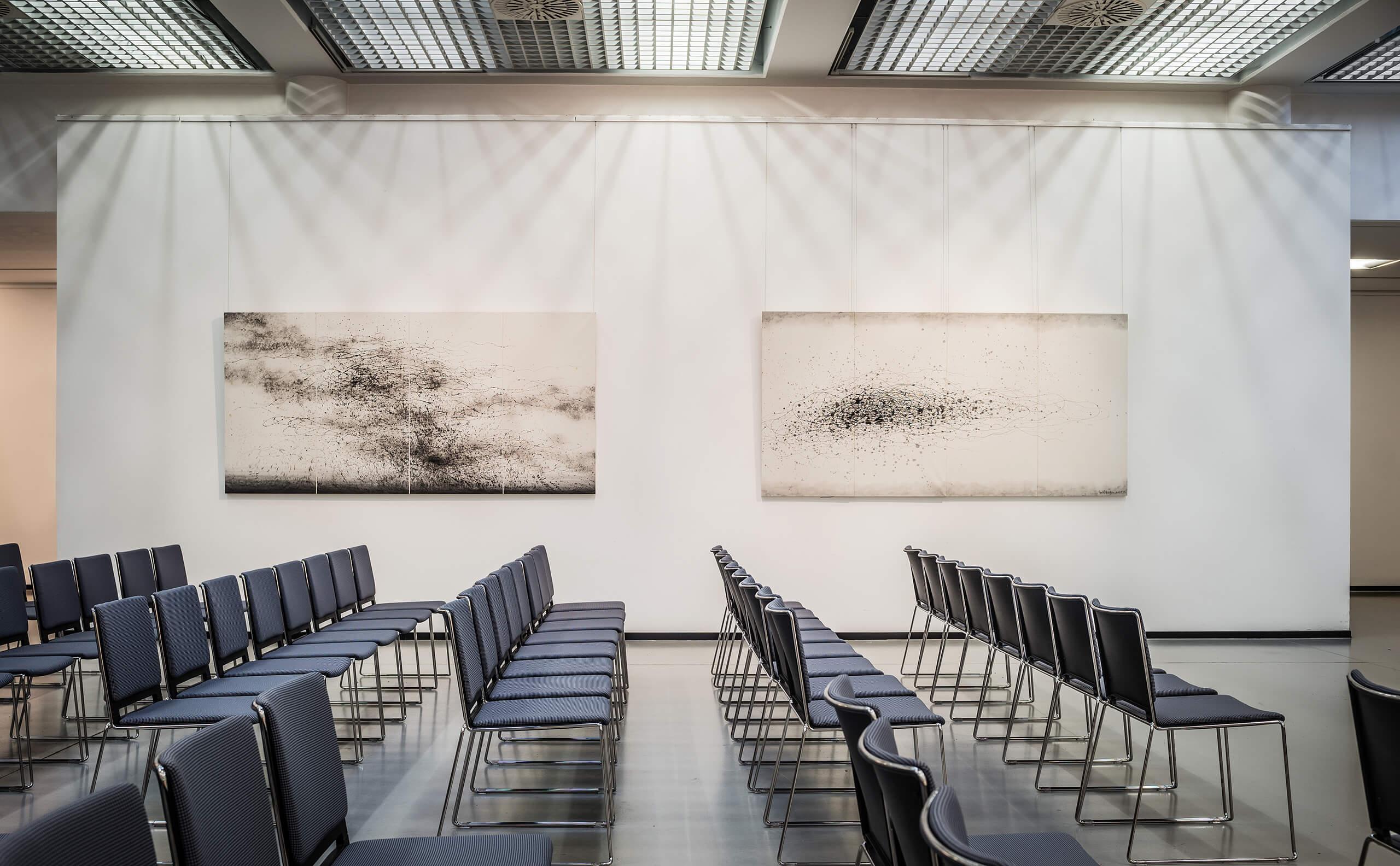 Kunsthalle Dresden - Stuhlreihen